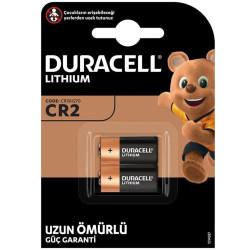 DURACELL CR2 3 VOLT LİTHİUM PİL 2Lİ PAKET