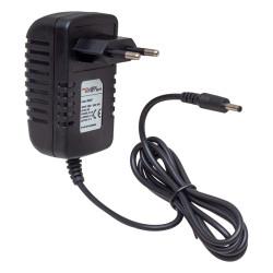 POWERMASTER PM-31667 5 VOLT 2 AMPER PLASTİK KASA PRİZ TİPİ ADAPTÖR 3.5*1.35 UÇ (ANDROID BOX İÇİN)