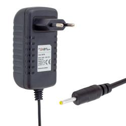 POWERMASTER PM-33779 5 VOLT - 3 AMPER PLASTİK KASA PRİZ TİPİ ADAPTÖR 2.5*0.7 UÇ