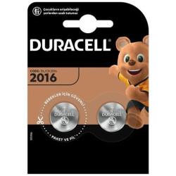 DURACELL CR2016 LİT. PİL 2Lİ PAKET FİYAT