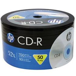 HP CRE00070-3 CD-R 700 MB 52X 50Lİ PAKET FİYAT