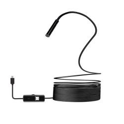 HYTECH HY-XYK20 7MM MİCRO USB + TYPE C LED IŞIKLI 5 METRE KABLOLU YILAN KAMERA