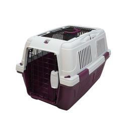 Strong CD3 Üstten Açılabilir Kedi-Köpek Taşıma Çantası Bordo 57x37x35cm